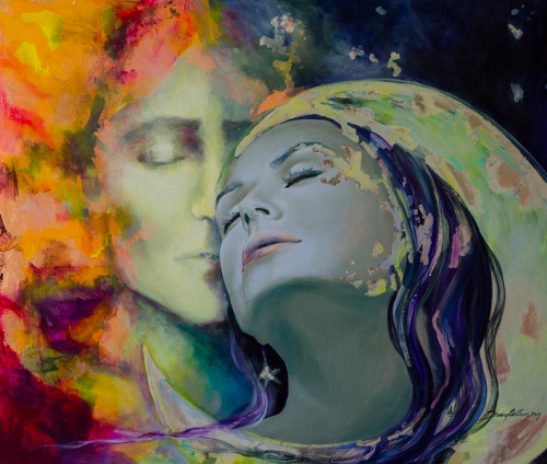 Path to the Beloved Art by Dorina Costras
